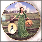 The Final Out-take: The Green Muslin Dress Collector Plate by Douglas C. Klauba