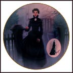 The Mourning Gown Collector Plate by Douglas C. Klauba