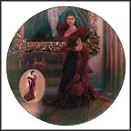 The Red Dress Collector Plate by Douglas C. Klauba