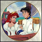 Ariel's Dream Comes True Collector Plate by Disney Studio Artists MAIN