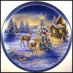 All Aglow Collector Plate by Joe Thornbrugh