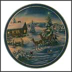 A Glistening Season Collector Plate by Joe Thornbrugh