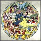 The Fairest One Of All Collector Plate by Disney Studio Artists