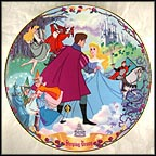 Once Upon A Dream Collector Plate by Disney Studio Artists