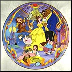 A Tale As Old As Time Collector Plate by Disney Studio Artists