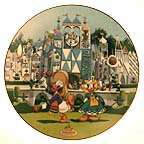 It's A Small World Collector Plate by Disney Studio Artists