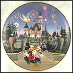 Sleeping Beauty Castle Collector Plate by Disney Studio Artists
