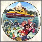 Submarine Voyage Collector Plate by Disney Studio Artists