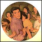 With Love, Elvis Collector Plate by Bruce Emmett