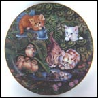 Garden Reflections Collector Plate by Jürgen Scholz