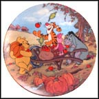 Harvest Time Collector Plate by A. A. Milne & E. H. Shepard