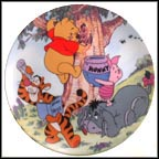 A Sticky Situation Collector Plate by A. A. Milne & E. H. Shepard