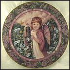 Patience Collector Plate by Donna Richardson