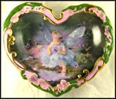Budding Innocence Collector Plate by Lisa Jane Wedelich