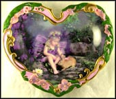 Loving Touch Collector Plate by Lisa Jane Wedelich