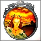 Scarlett Radiance Collector Plate by Mary Jo Phalen