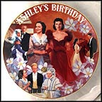 Ashley's Birthday Collector Plate by Aleta Jenks
