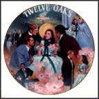 Scarlett: Belle of the Twelve Oaks Barbecue Collector Plate by Aleta Jenks