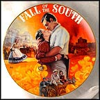 Fall Of The South Collector Plate by Aleta Jenks
