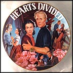 Hearts Divided Collector Plate by Aleta Jenks