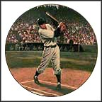 Bobby Thomson: Shot Heard Round The World Collector Plate by Stephen Gardner