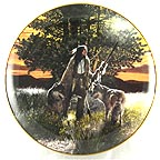 The Pathfinders Collector Plate by Craig Tennant