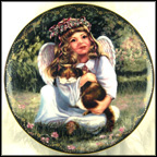An Angel's Happiness Collector Plate by Donna Brooks