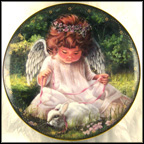 An Angel's Kindness Collector Plate by Donna Brooks