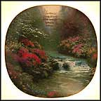 For Thou Art My Lamp Collector Plate by Thomas Kinkade MAIN