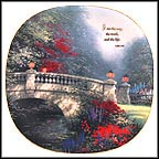 I Am The Way Collector Plate by Thomas Kinkade MAIN