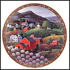 The Apple Blossom Festival Collector Plate by Martha Leone