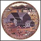 The Auction Collector Plate by Martha Leone
