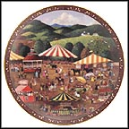 The County Fair Collector Plate by Martha Leone