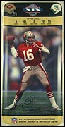 Super Bowl XIX Collector Plate by Daniel Smith