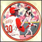 Cincinnati Slugger Collector Plate by Chris Hopkins