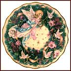 Glad Tidings Collector Plate by Lena Liu