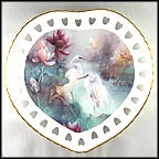 Sacred Is The Promise Of Love Collector Plate by Lena Liu