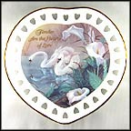 Tender Are The Hearts Of Love Collector Plate by Lena Liu MAIN