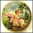 Enchanted Dreams Collector Plate by Lisa Jane Wedelich