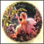 Wonders To Believe Collector Plate by Lisa Jane Wedelich