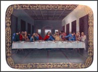 The Last Supper Collector Plate by Christopher Nick
