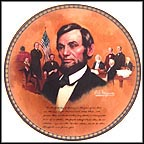 The Emancipation Proclamation Collector Plate by Robert A. Maguire