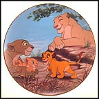 Best Friends Collector Plate by Disney Studio Artists MAIN