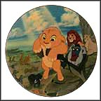 The Circle Of Life Collector Plate by Disney Studio Artists
