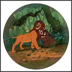 Hakuna Matata Collector Plate by Disney Studio Artists