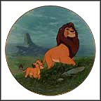 Like Father, Like Son Collector Plate by Disney Studio Artists