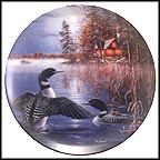 Evening Mist Collector Plate by Jim Hansel MAIN