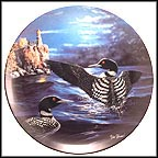 Night Light Collector Plate by Jim Hansel