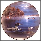 Silent Passage Collector Plate by Jim Hansel