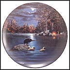 Peaceful Waters Collector Plate by Jim Hansel
